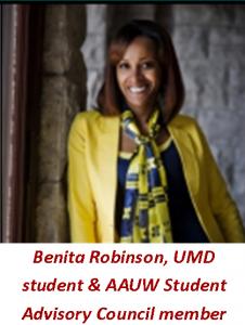 Benita Robinson pic with title
